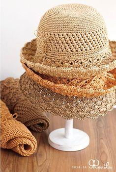 Crochet Cross, Knit Or Crochet, Crochet Hats, Sombrero A Crochet, Knitting Patterns, Crochet Patterns, Crochet Summer Hats, Crochet Carpet, Crochet Clothes