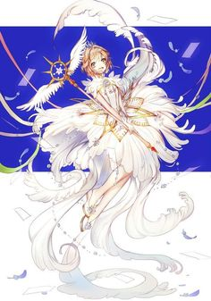 Anime Sakura, Anime Manga, Anime Art, Clow Reed, Sakura Card Captors, Pretty Drawings, Clear Card, Cardcaptor Sakura, Moon Art