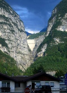 Vajont, Italy--lived here when I was 11.