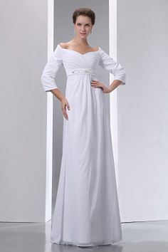 Popular Empire Off The Shoulder Plus Size Wedding Dress Floor-length Chiffon Beading and Ruch Plus Size Wedding Dresses With Sleeves, Red Wedding Dresses, Plus Size Prom Dresses, Formal Dresses For Women, Cheap Prom Dresses, Cheap Wedding Dress, Wedding Dress Styles, Bridesmaid Dresses, Dresses 2013