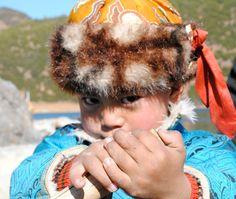 The boy of Lugu Lake. Lijiang China.