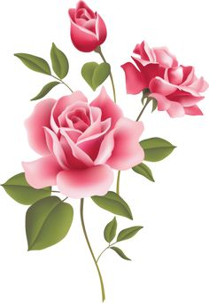 Beautiful Clip Art Of Flowers: Roses