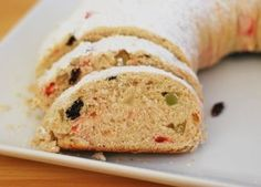 Stollen - a German Christmas bread