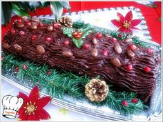 Xmas Food, Christmas Sweets, Christmas Cooking, Christmas Time, Christmas Wreaths, Christmas Ornaments, Recipe Boards, Greek Recipes, Cooking Time