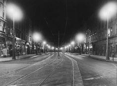 Westmoreland St from O'Connell Bridge 1938 Dublin City, Dublin Ireland, Old Photos, Bobs, Bridge, Public, Times, Night, Street