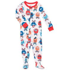 Lindo Pijama Carters! Com sola emborrachada. Tamanhos disponíveis 12, 18 e 24 meses.   Valor - R$ 60,00  Dúvidas sobre peso e altura acesse a tabela: http://pinterest.com/pin/323133341984402947  20133205362013
