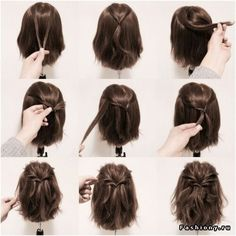 Quick And Easy Hairstyles For Medium Hair 5 Ways To Style Shoulderlength Hair …  Hair  P…