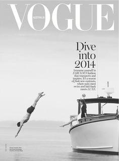 Hilary Rhoda by Boo George forVogue AustraliaJanuary 2014