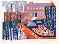 'Wordsworth's House' by Claire Curtis. Part of the FLORAL exhibition opening at gallerytop on Saturday 28 june 2014.