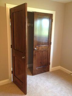 Better than bifold closet doors