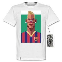 T-shirt Art Neymar Barca