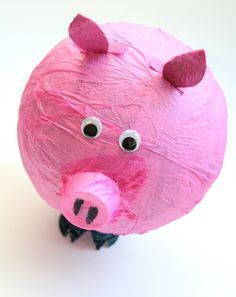 Help your child create his own pinata in this fun and easy activity. Use paper mache and fingerpaint for a party pinata everyone will love.
