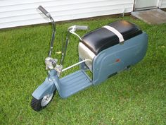 1962 and 1964 Centaur  Lombard Industries  Folding Scooters