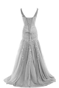 Amazon.com: COCOMELODY Trumpet V Neck Long Beaded Prom Evening Dress Bmmc0009 Champagne 00: Sports & Outdoors