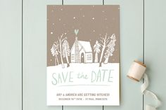 Cabin Love by June Letters Studio at minted.com
