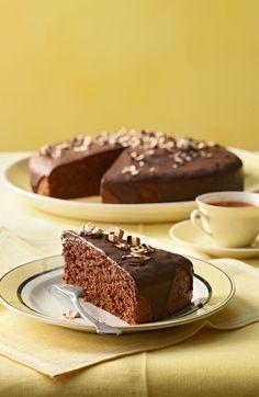 Schokoladenkuchen - mit Hafer und ganz viel Schokolade