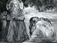 Ezekiel door William Blake, 1794