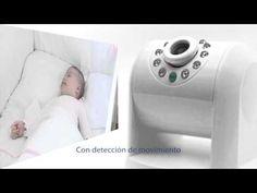 Cámara IP vigilabebés que permite seguir los movimientos del bebé desde la tablet o el smartphone - spin IPcam