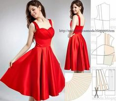 Modelos de moda para medir: a transformação de vestidos _84 / Fashion models to measure: the transformation dresses _84