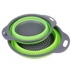 Foldable Silicone Colander Fruit Vegetable Washing Basket Strainer Strainer Collapsible Drainer With Handle Kitchen Tools Colanders & Strainers from Home & Garden on AliExpress Kitchen Handles, Kitchen Cupboards, Kitchen Utensils, Kitchen Strainer, Tea Strainer, Space Saving Kitchen, Washing Basket, Filter, Four Micro Onde