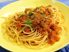 Mama Mauro's Red Sauce : Made with a mix of flavorful dried herbs, Jeff Mauro's fresh pasta sauce boasts just a pinch of sugar, which helps balance the acidity of the tomatoes.