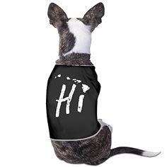 Cute Hawaii Hi Islands Culture Vintage Dog Shirt -- Read more at the image link.