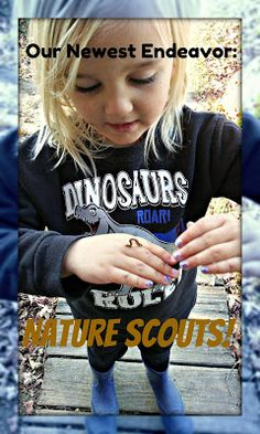 Mixed Bag Mama: Our Newest Endeavor: Creating Our Own Nature Scouts!