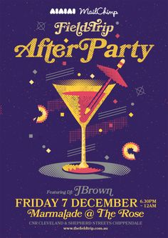 Fieldtrip after party poster