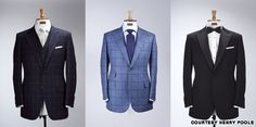 Good advice on buying bespoke. Add'l research notes for tux: Always go w/ - either a Peak Lapel or Shawl collar (never notch lapel) - Single button - Silk lapel and detailing - Notice thin silk lining on pockets of the Against Nature posting And go w/ the fly front tux shirt And the jacket must be fully canvased ONLY if no other choice go with half canvassed but NEVER fused. Also NO satin/silk piping on the side of the pants.