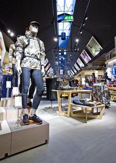 Sportmaster flagship store by Riis Retail, Kolding   Denmark