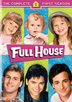 Full House, 1987-1995. Set in San Francisco, the show chronicles widowed father Danny Tanner, who, after the death of his wife, enlists his best friend Joey Gladstone and his brother-in-law Jesse Katsopolis to help raise his three daughters, D.J., Stephanie, and Michelle.