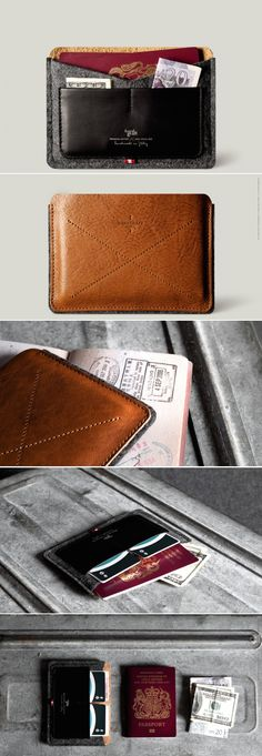 #hardgraft Passport Wallet