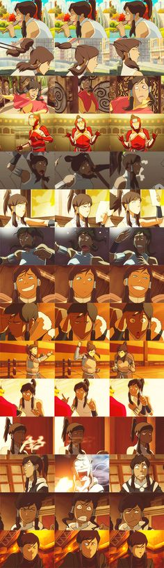 """Avatar: The Legend of Korra"" - Korra. Queen of Expressions.