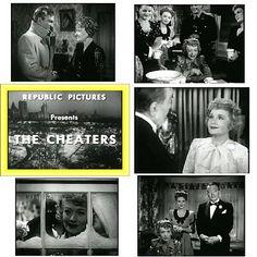 SALE! The Cheaters (1945) Billie Burke & Christmas Eve (1986) Loretta Young - Christmas Classics! $6.99 FREE ship USA