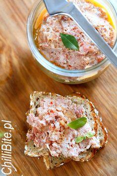 ChilliBite.pl - motywuje do gotowania!: Kiełbasa w słoiku Hummus, Potato Salad, Pasta, Cheese, Meat, Dinner, Ethnic Recipes, Food, Hallways