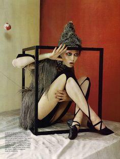 Russian Dolls  Vogue UK, Oct 2010