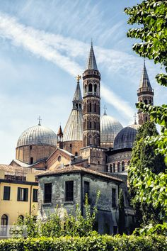 Padova by wimbaw  Basilica Italy Padova architecture building canon 6d church city cityscape europe light old tourism