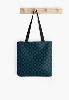 Gift for Blue Color Lovers • Millions of unique designs by independent artists. Find your thing. Large Bags, Small Bags, Dark Blue Background, Dark Blue Color, Blue Aesthetic, Medium Bags, Pattern Wallpaper, Midnight Blue, Cotton Tote Bags