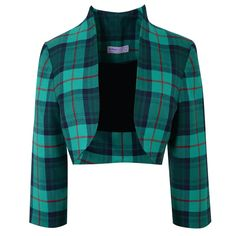 Absolutely love the tartan jacket and definitely will be getting one for my November wedding!