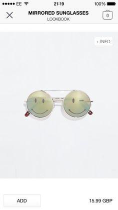 Mirrored Sunglasses | Zara