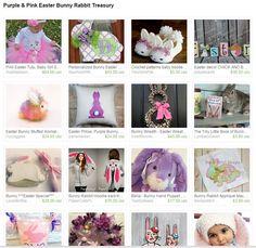 Pink and Purple Easter Bunny Favorites #junkyardblonde #easterpicks  https://www.etsy.com/treasury/NTc4Nzk3NDl8MjcyNzMzMDQxMg/purple-pink-easter-bunny-rabbit-treasury