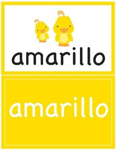 Colors in Spanish ~ Los Colores ~ Flash Cards Print and laminate these cute color flash cards. These flash cards are designed for children who are learning the color names in Spanish. Spanish Teacher, Teaching Spanish, Spanish Colors, Spanish Names, Spanish Worksheets, Bilingual Education, Teaching Materials, Name Cards, Color Names