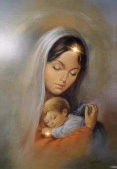 Maria and Jesús' Silent Night'🙏🏻 – Mother Mary – jesus