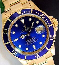 ec7e253bf21 Gold Rolex Submariner....... Relojes Caballero