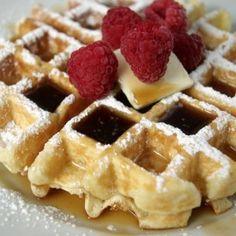 Homemade Waffles From Scratch