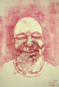 Monoprints by Rose Jaffe, via Behance