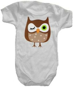Hey, I found this really awesome Etsy listing at https://www.etsy.com/listing/61171845/owl-onesie-or-t-shirt