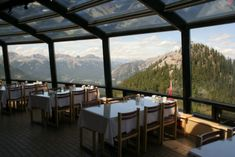 The Summit Restaurant - Banff, Canada. Top 50 restaurants with a view.
