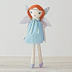 Shop Magic Fairy Doll Blue.  Our Magic Fairy Dolls will add a dose of imagination to playtime.  Each doll features detailed embroidery, a colorful dress and was exclusively designed for us by Dainy Sawatzky.