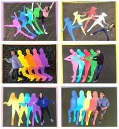 Pop Art Movement Lesson for middle school kids - Leah Newton Art - Das schöns .Pop Art Movement Lesson for middle school kids - Leah Newton Art - The most bea Middle School Art Projects, Art School, School Kids, High School, Kids Name Art, Art For Kids, Zentangle, Kids Pop, Pop Art Movement